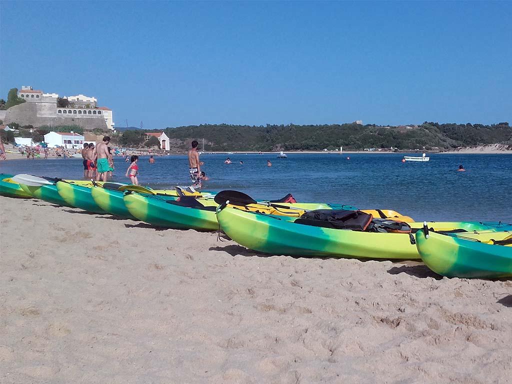 Kayaks areia4