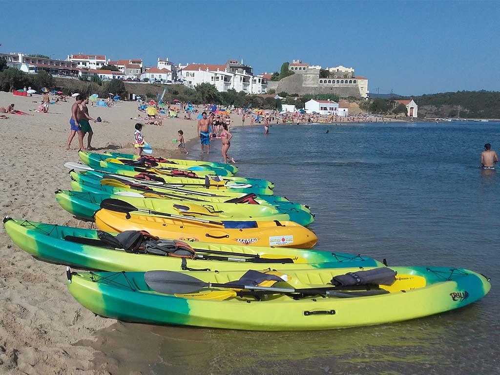 Kayaks areia5